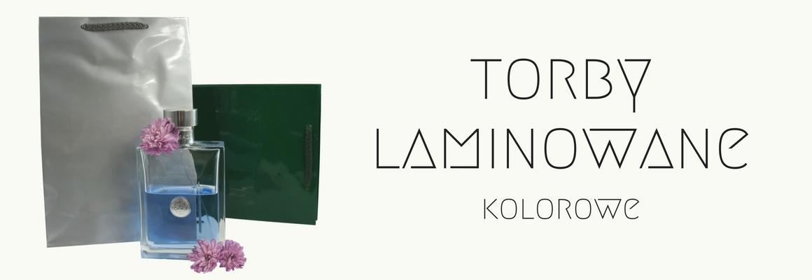 Torby laminowane z logo dla firm